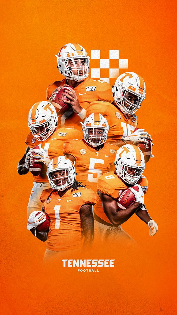 Tennessee Football 2019 On Behance In 2020 Tennessee Football Tennessee Volunteers Football Football