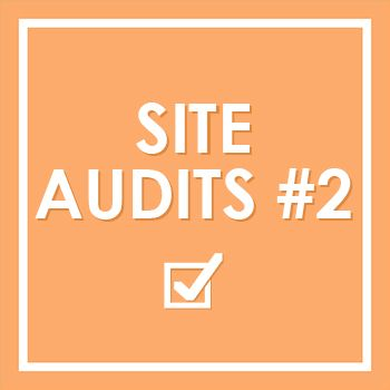 Our second round of Site Audits - members have their blogs looked at and Jim demonstrates how to audit your site.