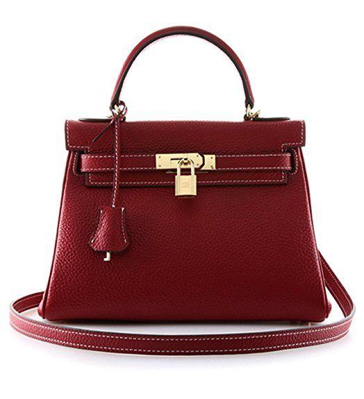 55dd0776c34  105 Burgundy Hermes Kelly Bag Dupe