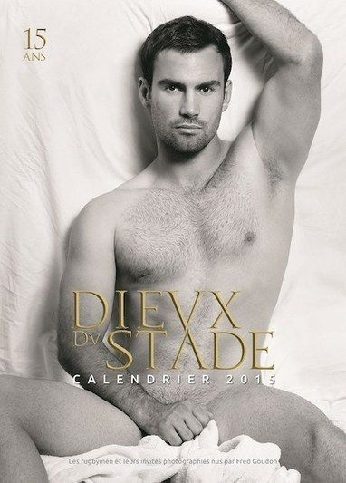 PHOTOS: French rugby stars strip off for 15th Dieux du Stade calendar | Gay Sports | Scoop.it