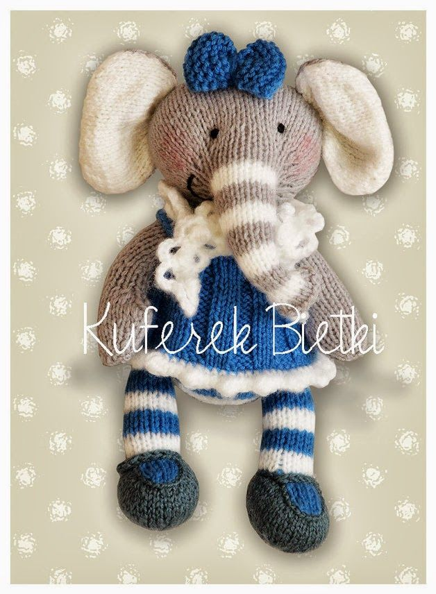 47 best images about Knitted Elephants & etc on Pinterest