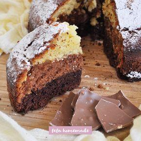 Tre strati di cioccolato, in una torta da colazione sofficissima! Realizzala e lasciati sorprendere dal suo incredibile interno!