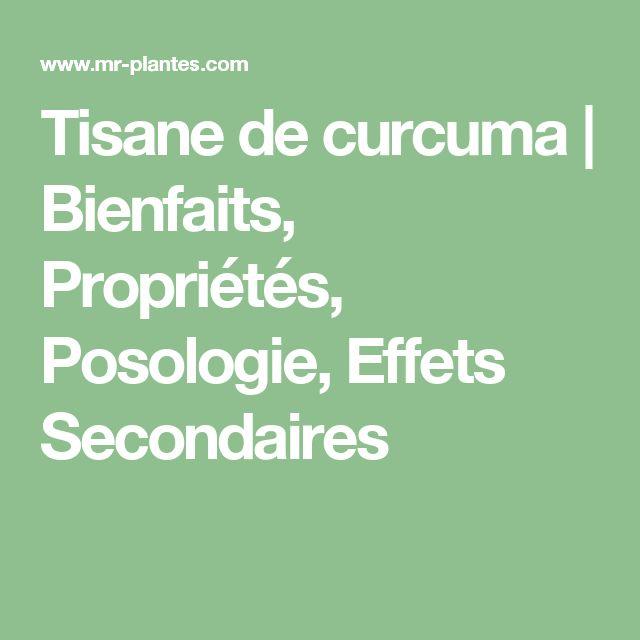 Tisane de curcuma | Bienfaits, Propriétés, Posologie, Effets Secondaires