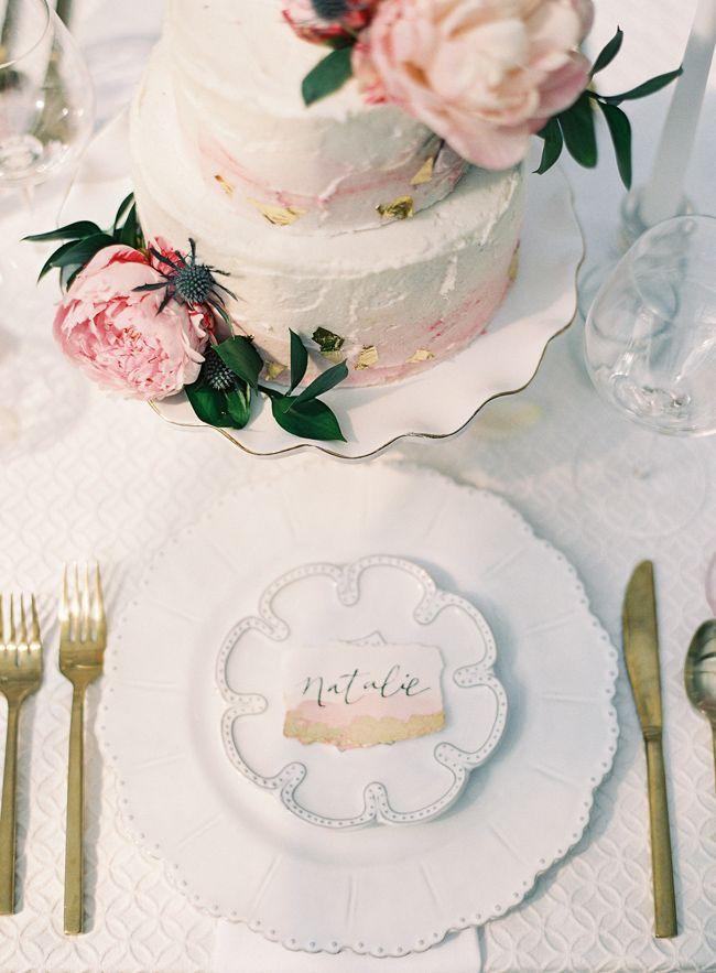 Romantic Garden Wedding Inspiration In Charleston
