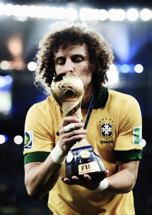 David Luiz, #PSG #Football player from #Brazil. One of the best in the world now!