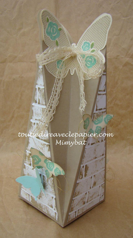 Boîte Papillon Floral Wings