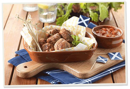 Try our exquisite Chicken Meatballs with chipotle sauce and rocket, made using our Chicken Liver and Heather Honey Pate. A perfect addition to a summer picnic.