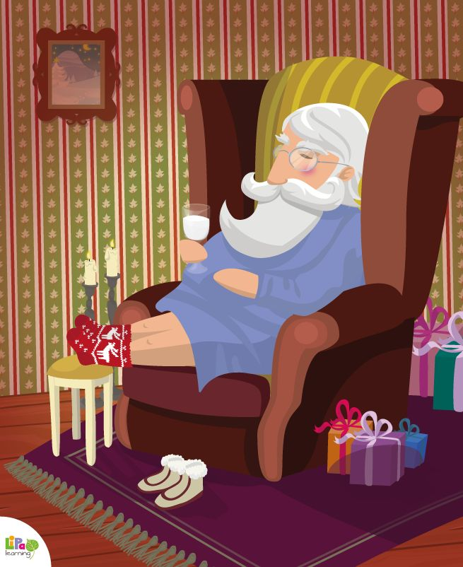 2 days to Christmas! Get ready, 'cause Santa Claus is coming to town!