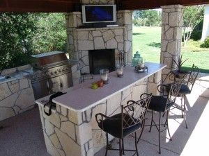 Outdoor kitchen ideas for small spaces out door living for Outdoor kitchen ideas for small spaces