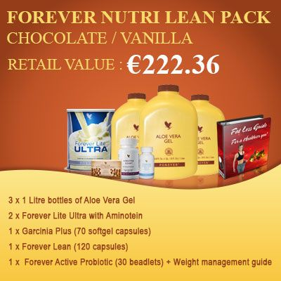 Nutri Lean Pack Chocolate/Vanilla - It is a part of the weight management program of Forever Living. The rules to consume it are really very easy and can easily fit into your daily routine.