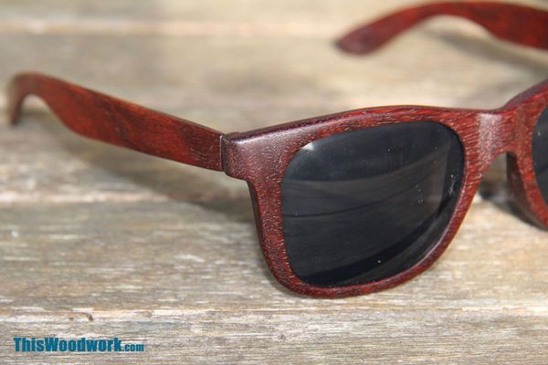 How to: Make a Pair of DIY Wooden Sunglasses from Scratch | Man Made DIY | Crafts for Men | Keywords: craft, diy, woodworking, style