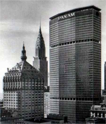 The Pan Am Building, New York.
