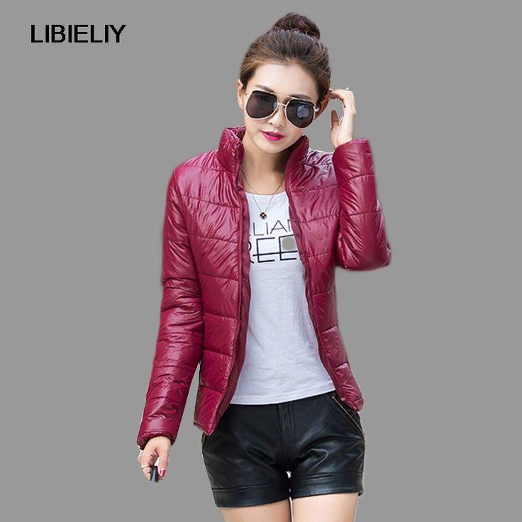 Nice Winter Jacket Women Down Coat Fashion Autumn Female Parkas Cotton Casual Basic Jackets Wadded Plus Size S-XXXL #Affiliate