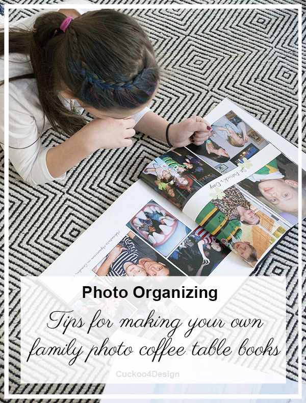 How to Make Annual Family Photobooks - Cuckoo4Design