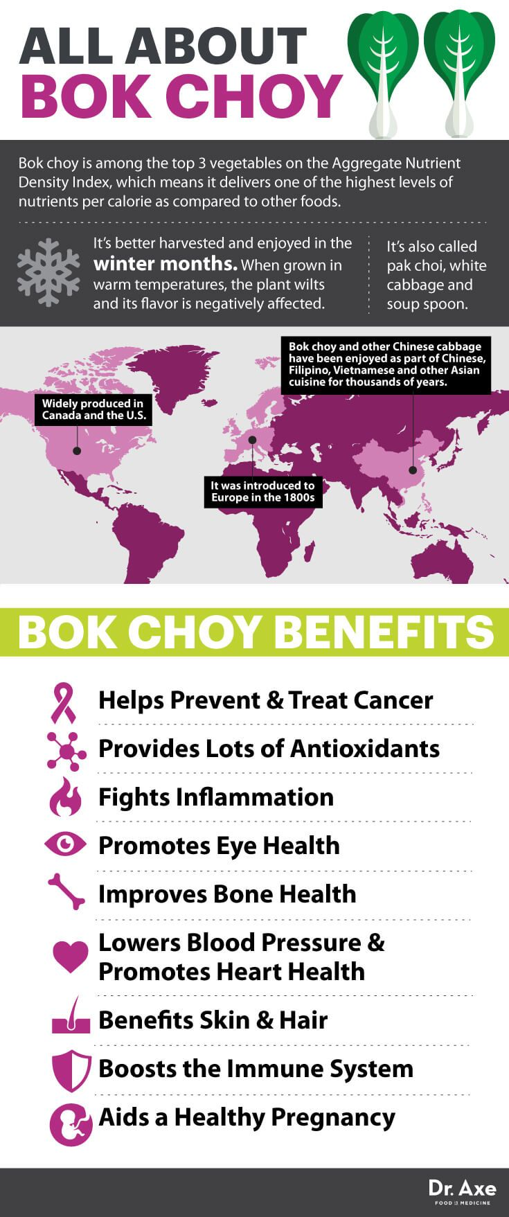 Bok Choy: A Top 3 Nutrient-Dense Vegetable that Battles Cancer - Dr. Axe