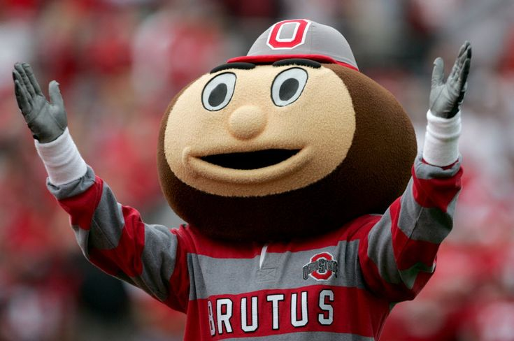 Ohio State Mascot | Brutus Buckeye
