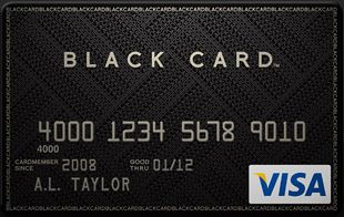 The Visa Black Card sports a $450 annual fee