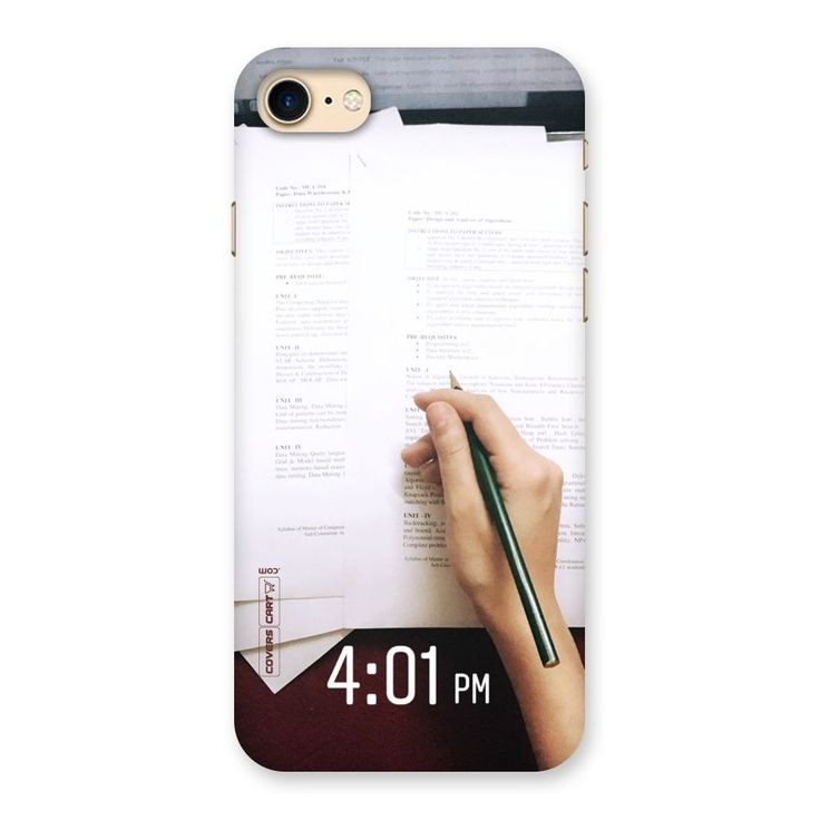 Exam Time Blues Back Case for iPhone 7 | Mobile Phone Covers & Cases in India Online at CoversCart.com