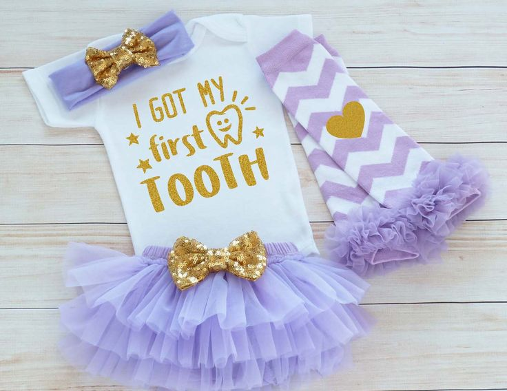 Baby Girl Clothes, My First Tooth, Baby Girl First Tooth Outfit, My 1st Tooth Bodysuit, Tooth Fairy, My First Tooth Girl, Custom Girl Shirt by RedRockClothing on Etsy https://www.etsy.com/listing/552411071/baby-girl-clothes-my-first-tooth-baby