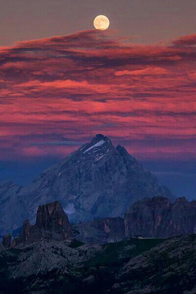 Torri e Antelao - Cortina d'Ampezzo - Dolomiti -  province of Belluno , Veneto