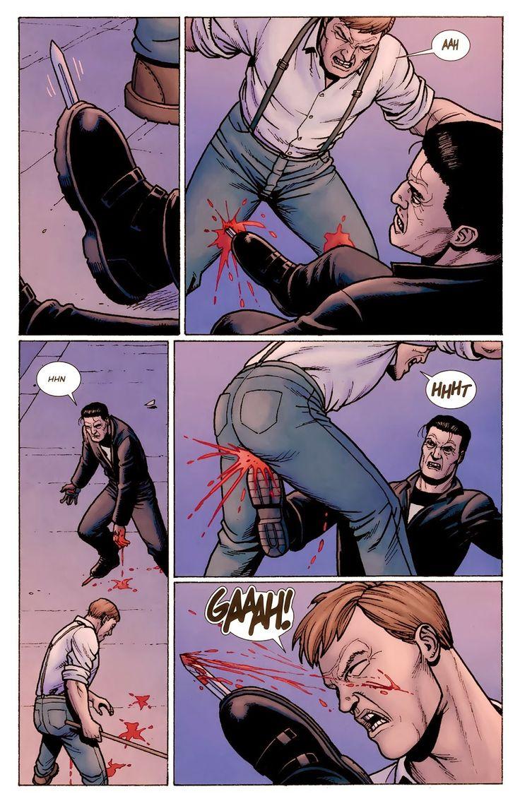Justiceiro MAX: Rei do Crime, de Jason Aaron, Steve Dillon e Matt Hollingsworth: Assassinatos, torturas e estupros