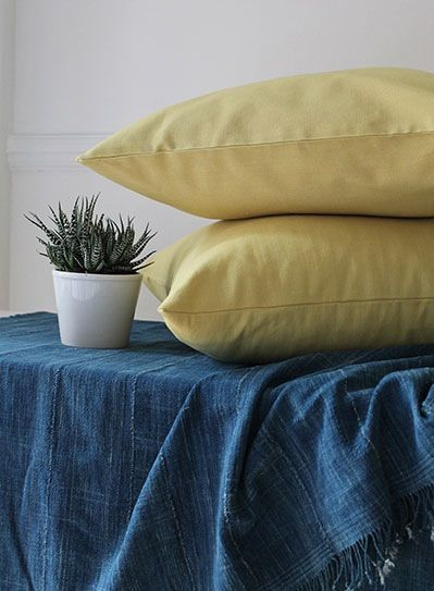 Image of Pale Green Giant Square Cushion