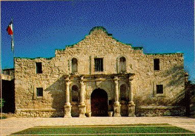 """The Alamo.  """"I'd like to ask each of you what it is you value so highly that you are willing to fight and possibly die for. We will call that Texas."""" ~William B. Travis"""