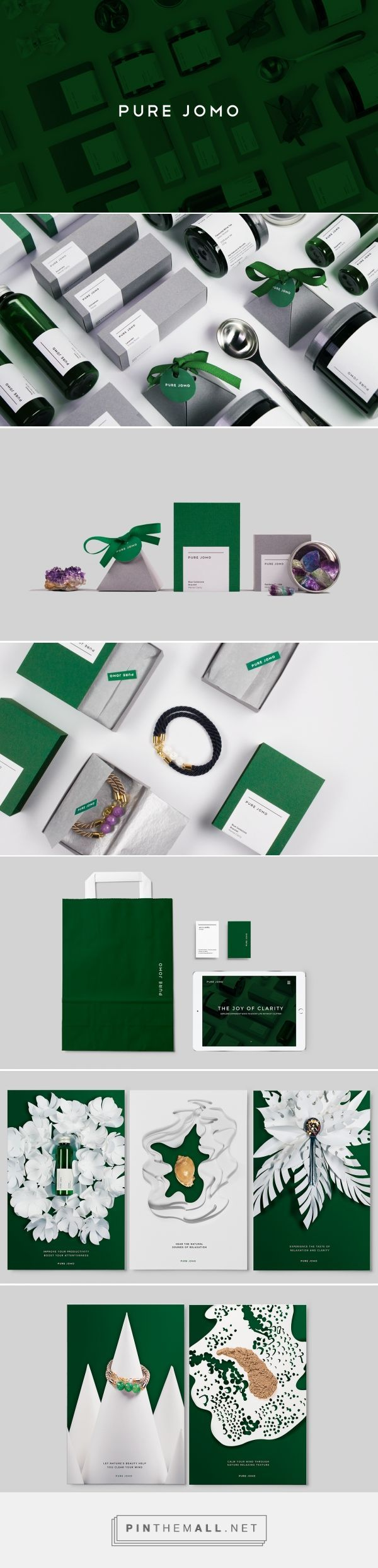 Pure Jomo Stress Relief Product Packaging by Alaa Amra