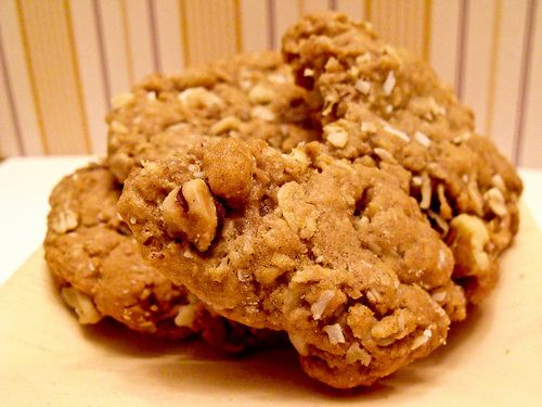 Vermont Maple Oatmeal Cookies | Fattie for Life | Pinterest