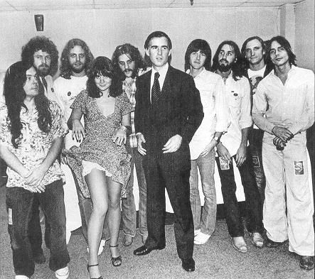 Linda Ronstadt, Jerry Brown, The Eagles, Jackson Browne/Maryland, 1976 - Jerry is my governor - again