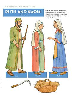 Old Testament Scripture Figures: Ruth and Naomi