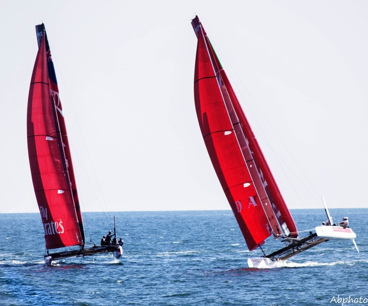 fly emirates and prada at american's cup 2013 napoli