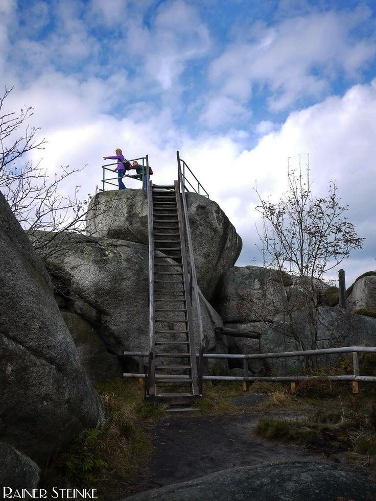Druidenschüsseln auf dem Nußhardt im Fichtelgebirge | Kult-Urzeit