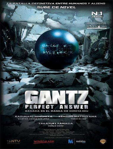 Poster de Gantz: Part 2 (Gantz: Perfect Answer)