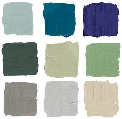 Popular Front Door Colors - 2012. ohhh...I WANT center top row! :)
