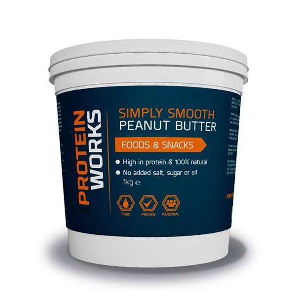 TPW™ Peanut Butter - The Protein Works - Benefícios Chave - 100% amendoim naturais. - Rica em proteínas que proporcionam uma sensação de saciedade. - Sem adição de sal, açúcar ou óleo.