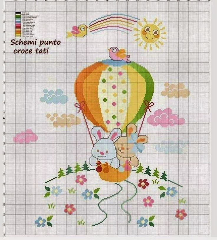 Schemi Elettrici Hobby : Schemi gratis da realizzare a filet punto croce maglia