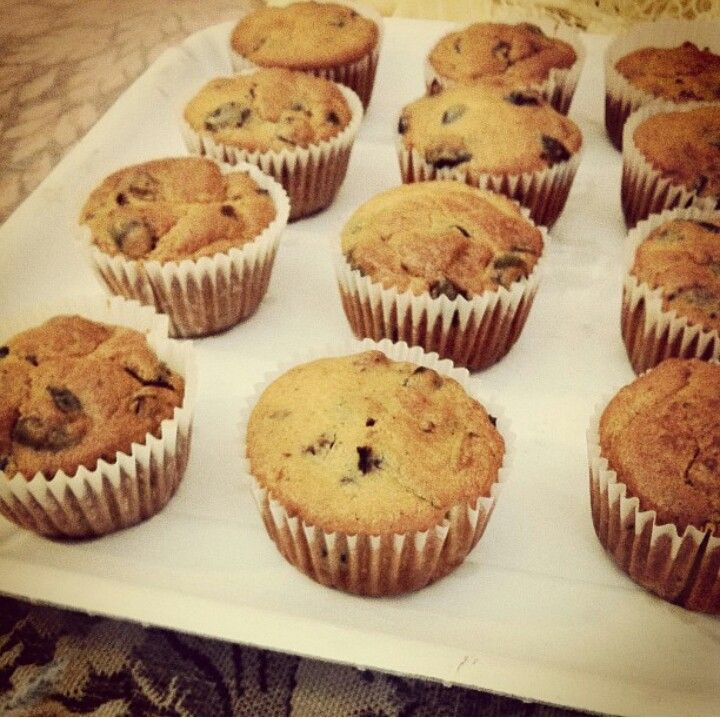 Black olives and rosemary muffins