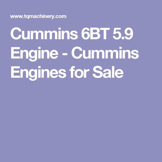 Cummins 6BT 5.9 Engine - Cummins Engines for Sale