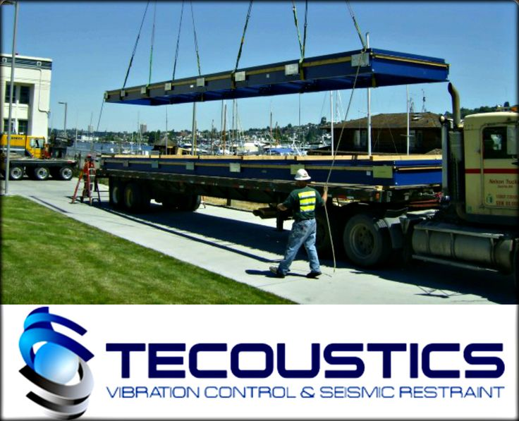 Tecoustics Ltd. coordinates with the equipment supplier or manufacturer to ensure the equipment is suitable for the requirements of your project. #Vibration #Acoustics http://bit.ly/tecoustic
