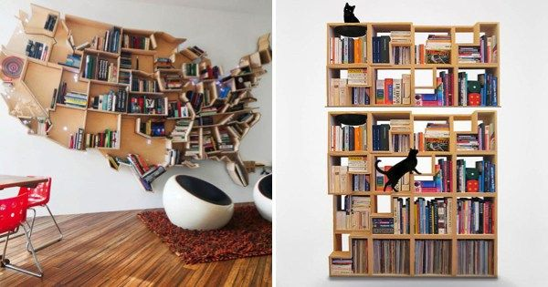 17 Creative Bookshelves Every Book Lover Will Go Crazy For