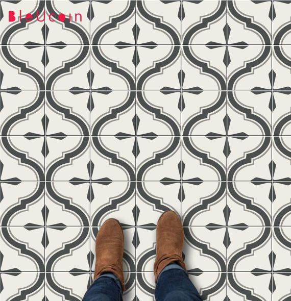 Scandinavian kitchen/bathroom/stair/floor tile stickers: 44pcs $28.49+ on ETSY