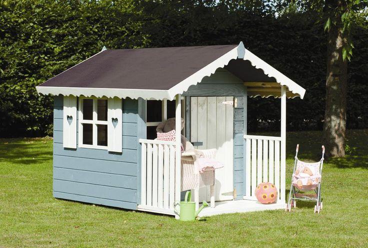 Children's playhouse with covered veranda