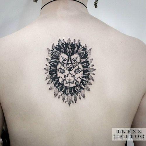 hedgehog tattoo - Google Search