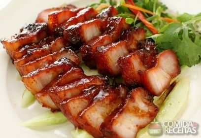Receita de Panceta à moda em receitas de carnes, veja essa e outras receitas aqui!