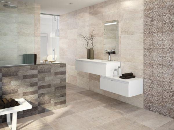 Carrelage creta grespania tanguy mat riaux salle de for Materiaux plafond salle de bain