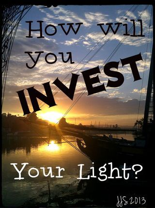 How Will You Invest Your Irreplaceable Light of This Day?  investering finansering med ndgroup.se