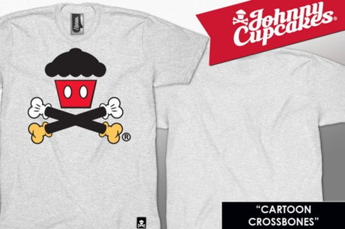Johnny Cupcakes | Cartoon Crossbones