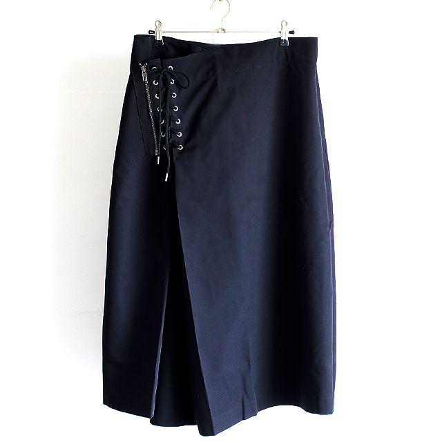 ウエストZIP×編み上げデザイン変形袴パンツ   メンズスカートなどモード系ファッションの通販 albino
