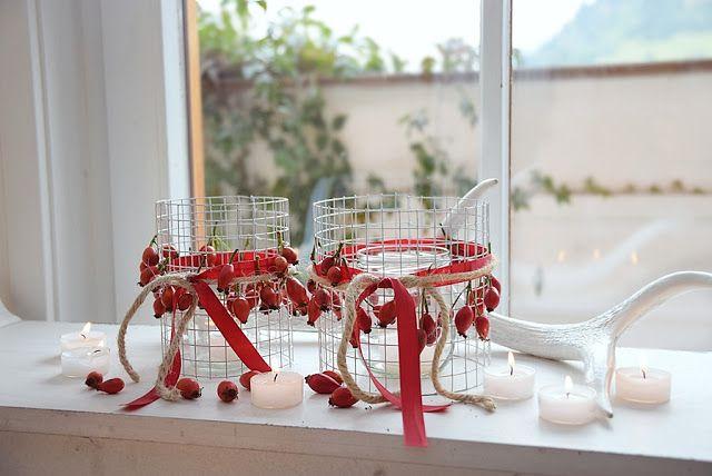 Deko, Wohn- und DIY Blog - White and Vintage: DIY - HERBSTDEKO aus Kaninchendraht